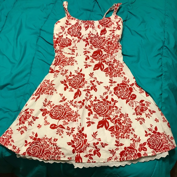 Ruby Red Summer Dress